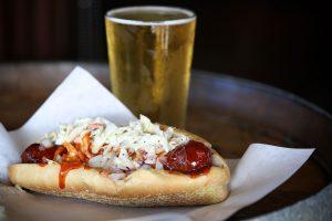 Beer & Hot Dog